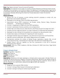 Summary Of Qualifications Sample Resume by Pega Sample Resume Pega Cssa Resumes