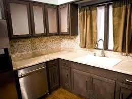 Diy Kitchen Cabinet Refacing Dining U0026 Kitchen How To Restaining Kitchen Cabinets With