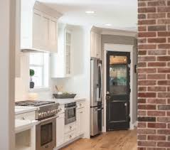 Dark And White Kitchen Cabinets Decorating Dear Lillie Kitchen With Pendant Lighting And White