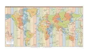 World Time Zones Map by Hgn Time Zone