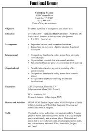Combination Resume Format Resume Samples 職涯發展暨校友中心