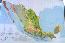 Hydrology Map Tectonic Map Of Mexico The Geological Society Of America 1961