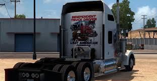 2018 kenworth w900 kenworth w900 u2013 independent trucker skin mod american truck