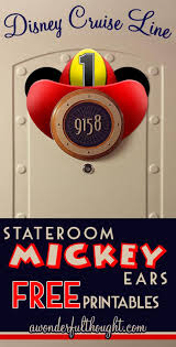 Magnet For Shower Door by 56 Best Stateroom Mickey Ears And Then Some Awonderfulthought