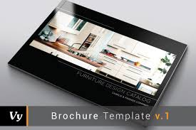 furniture interior catalog brochure templates creative market