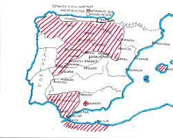 Madrid Spain Map by Spanish Civil War Objective Madrid Spainthenandnow