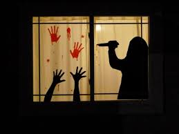 halloween window silhouettes u2013 diy ideas and useful decor tips