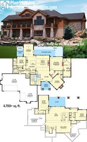 Floor Plans For One Level Homes by 57 Best Homes For The Sloping Lot Images On Pinterest House