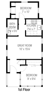 Small 2 Bedroom Cabin Plans 2 Bedroom Tiny House Plans Ahscgs Com