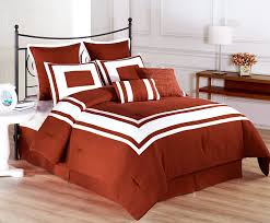 Red King Comforter Sets Amazon Com Cozy Beddings Lux Decor Collection 8 Piece White
