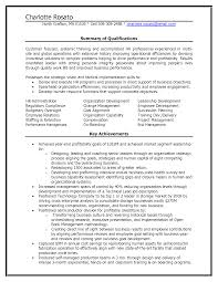 Executive Summary Resume Example Template Hr Executive Resume Example Sample Hr Consultant Resume Template