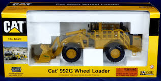 nib norscot cat 992g wheel loader 1 50 collectible die cast scale new