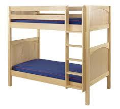 Maxtrix High Bunk Bed W Straight Ladder TT - Ladder for bunk bed