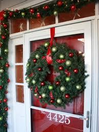 Christmas Yard Decoration Images 7 Front Door Christmas Decorating Ideas Hgtv