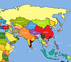 Map Of Asia by Tibet Map Asia