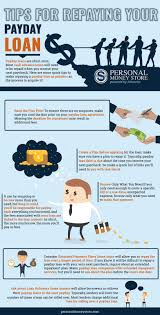 7 amazing tips for repaying your payday loan infographic