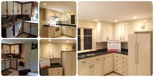 Kitchen Cabinet Refacing Before And After Photos Bathroom Proposal Sample Benchmark Home Improvements