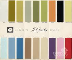 1950 Kitchen Cabinets 18 Colors For 1960s St Charles Steel Kitchen Cabinets Retro