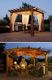 patio gazebos and canopies best 25 gazebo curtains ideas on pinterest screened porch