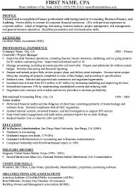 Sample Staff Accountant Resume by Sample Cpa Resumes Resume Cv Cover Letter Awesome Staff