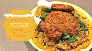 thanksgiving reason for its celebration make your own tasty vegetarian turkey for thanksgiving with this