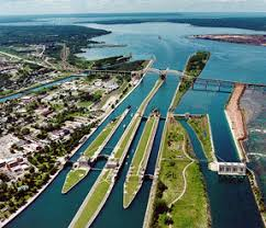 Sault Locks, Michigan