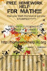 If you think you need help with your math homework  WE ARE HERE To Help you With Any Level Of Homework Online Our expert math tutors provide tutoring for
