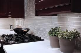 gray glass subway tile backsplash outofhome