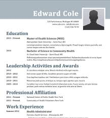 The Best Resume In The World by Teacher English Resume Format Cv English Resume Format Word
