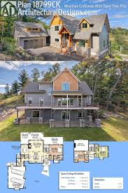 268 best rugged and rustic house plans images on pinterest