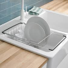 KSP Span Over The Sink Dish Rack Kitchen Stuff Plus - Kitchen sink dish rack