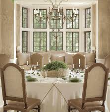 exellent window treatments ideas dining room for bay windows
