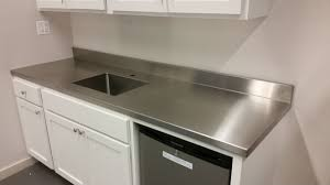 Stainless Steel Kitchen Furniture by Countertops Stainless Stainless Steel Countertops With Dishwasher