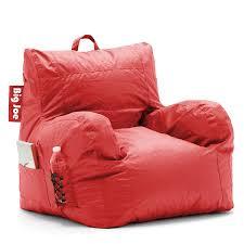 Big Joe Lumin Camo Bean Bag Chair Amazon Com Big Joe Dorm Chair Flaming Red Kitchen U0026 Dining