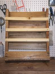 ana white pallet shelf spice rack diy projects