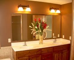 Bathroom Mirror Ideas On Wall Prepossessing 10 Bathroom Vanity Mirror And Light Ideas