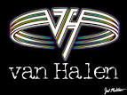 van halen stripes wallpaper