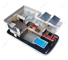 Energy Efficient House Plans Energy Efficient House Equipped With Solar Panels Energy Saving