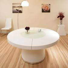 Round Dining Table Sets For 6 Docksta Table Ikea Throughout White Round Dining Table Design