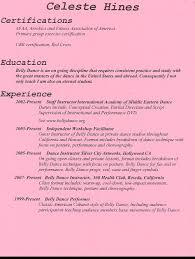 actors resume examples dance resume example sample dance resume http www docstoc com docs 61905350