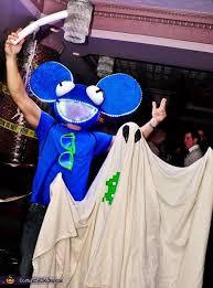 Deadmau5 Costume Halloween Homemade Deadmau5 Costume