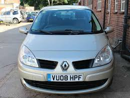 2008 renault grand scenic extreme 2 vvt seven seats manual 1 6