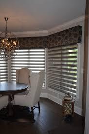 cornice and sheer shades for bay or bow windows abda abda window