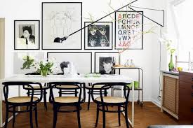 Artwork For Dining Room Go Eclectic And Chic In The Dining Room