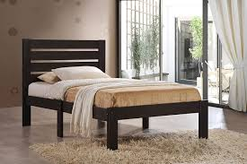 Bedroom Furniture Espresso Finish Amazon Com Acme Furniture 21085t Kenney Bed Twin Espresso