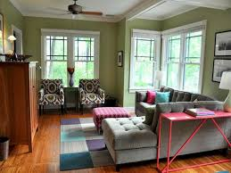 House Design Ideas Of Calm Modern Paint Color And Interior Design - Green paint colors for living room
