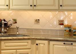 Kitchen Backsplash Samples Kitchen Tile Backsplash Ideas With White Cabinets U2014 Unique