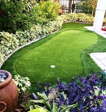 Backyard Golf Hole by Putting Green Turf Artificial Grass For Golf Progreen