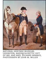 American Experience   Alexander Hamilton   People  amp  Events     PBS Painting of First Meeting of George Washington and Alexander Hamilton  by Alonzo Chappell