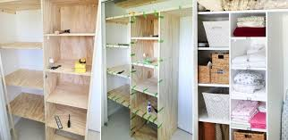 Build Wooden Shelf Unit by How To Customize A Closet For Improved Storage Capacity